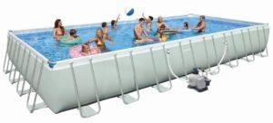 pool mit integriertem salzwassersystem